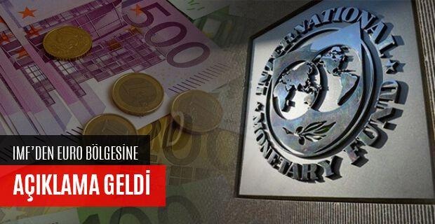 IMF'DEN EURO BÖLGESİNE DAİR KRİTİK AÇIKLAMALAR