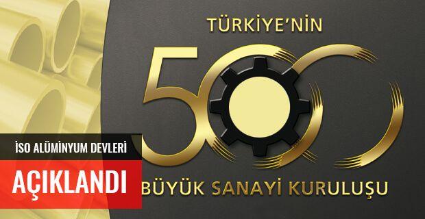 """İSO, """"Türkiye'nin 500 Büyük Sanayi Kuruluşu 2017"""" Araştırmasını Açıkladı"""