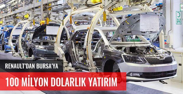 RENAULT'DAN BURSA'YA 100 MİLYON DOLARLIK YATIRIM