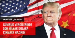 TRUMP - ÇİN TİCARET SAVAŞI ALEVLENİYOR!