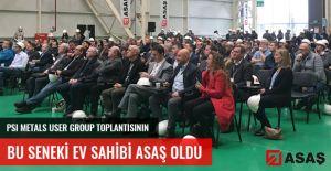PSI Metals User Group Toplantısının Bu Seneki Sahibi ASAŞ Oldu.