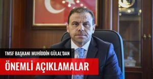 TMSF BAŞKANINDAN ÖNEMLİ AÇIKLAMA GELDİ